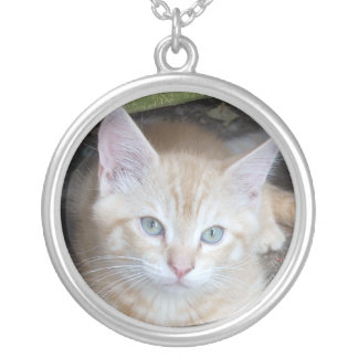 Ginger Kitten Necklace