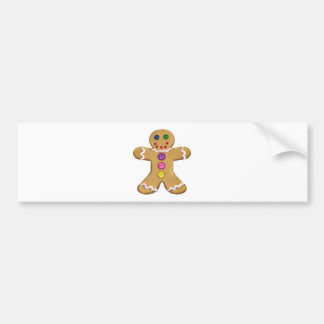 Ginger Man Bumper Sticker
