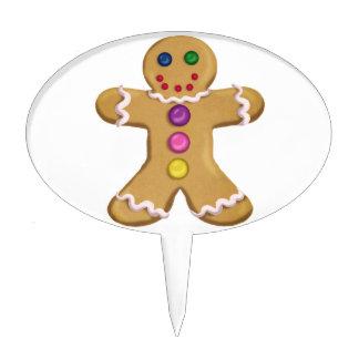 Ginger Man Cake Topper