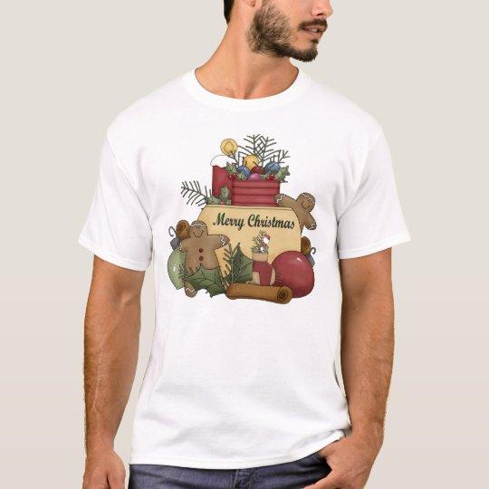 Ginger man Christmas T-Shirt