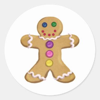 Ginger Man Classic Round Sticker