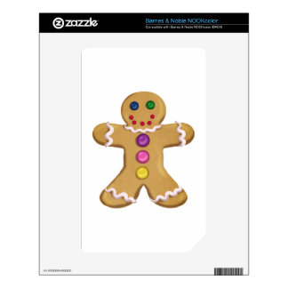 Ginger Man Decal For NOOK Color