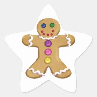 Ginger Man Star Sticker
