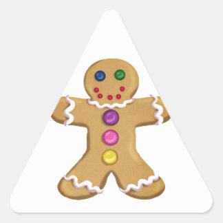 Ginger Man Triangle Sticker