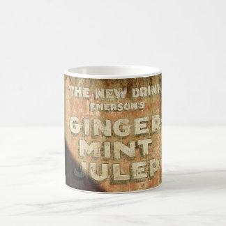 Ginger-Mint Julep wall Mugs