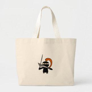 Ginger Ninja Figure 3 Canvas Bags