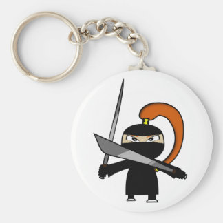 Ginger Ninja Figure 3 Keychain