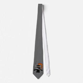Ginger Ninja Figure 3 Neck Tie