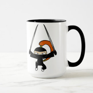 Ginger Ninja Figure 4 Mug