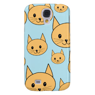 Ginger Orange Cat Design. Samsung Galaxy S4 Cover