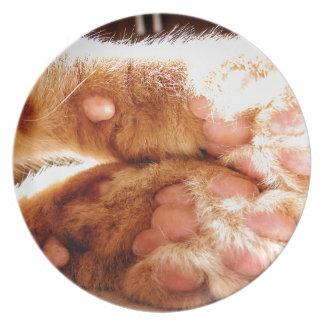Ginger Paws Dinner Plate