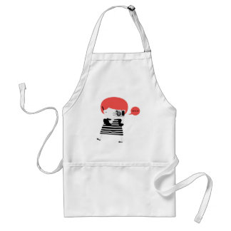Ginger photographer adult apron