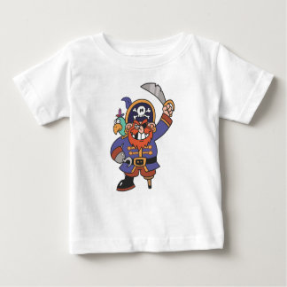 Ginger pirate with Parrot Baby T-Shirt