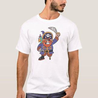Ginger pirate with Parrot T-Shirt