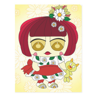 Ginger Postcard