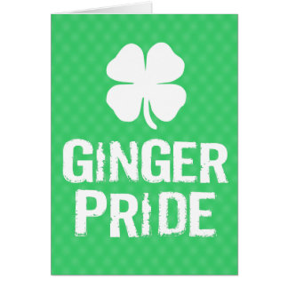 Ginger Pride Card