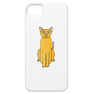 Ginger Red Shorthair Cat. iPhone SE/5/5s Case