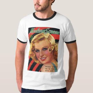 Ginger Rogers Modern Screen 1936 T-Shirt