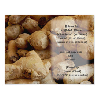 ginger root party invite