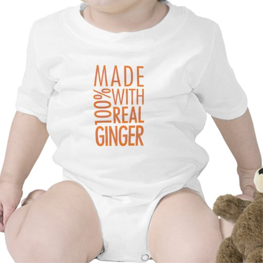 Ginger Shirt Bodysuits