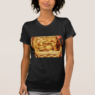 Ginger Snap Cookies in Basket Shirt