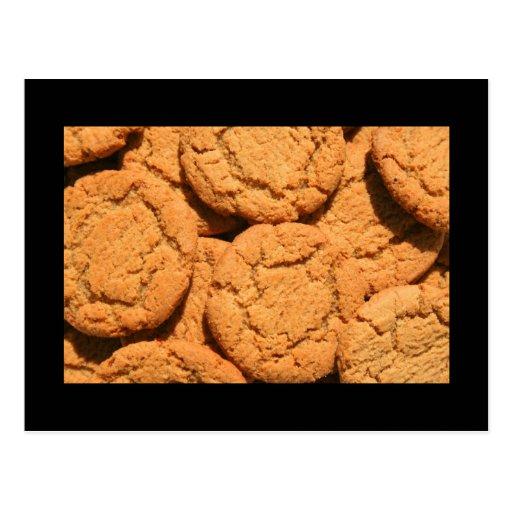 Ginger Snap Cookies Postcard