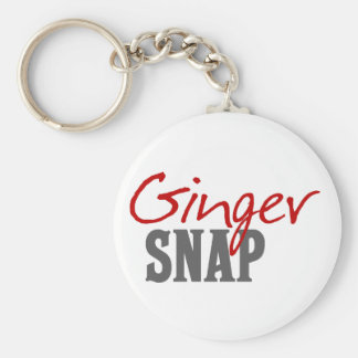 Ginger Snap Redhead Humor Keychain