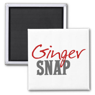Ginger Snap Redhead Humor Magnet
