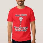 Ginger Sperm Tshirts