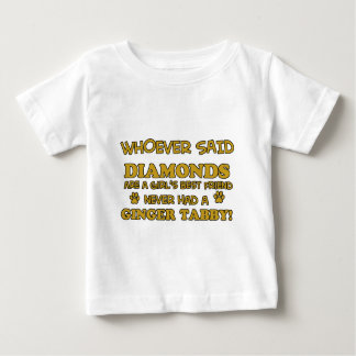Ginger Tabby Cat designs Baby T-Shirt