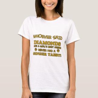 Ginger Tabby Cat designs T-Shirt