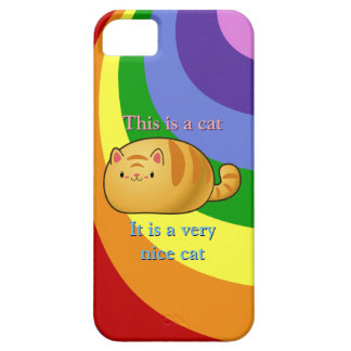 Ginger Tabby Cat iPhone SE/5/5s Case