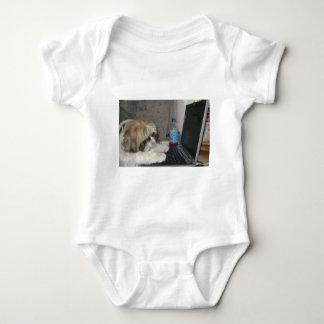 Ginger the Dog Baby Bodysuit