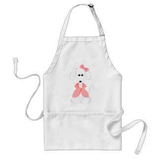Ginger the Poodle Apron