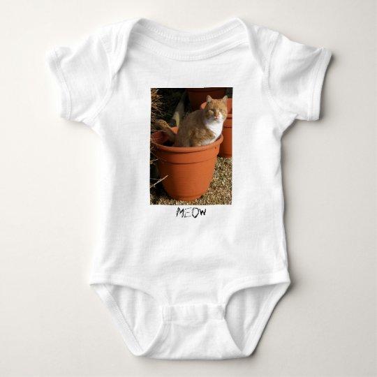 Ginger Tom Cat Infant's Clothing Baby Bodysuit