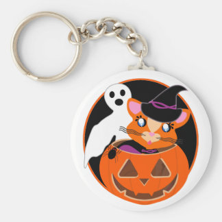 Ginger Toon Kitty Boo! Keychain