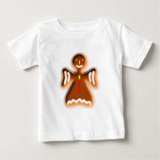 Gingerbread angel going hereditary READ fishing ro Baby T-Shirt