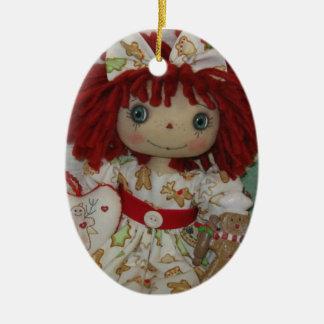Gingerbread Annie Ornament