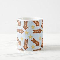 gingerbread arrows fun holiday design coffee mug
