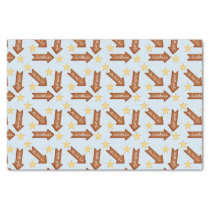 gingerbread arrows fun holiday design tissue paper