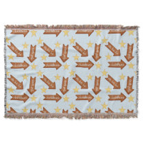 gingerbread arrows fun winter blanket