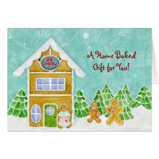 Gingerbread Bake Shoppe Home Baked Gift Card