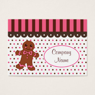 Gingerbread Bakery Business Cards