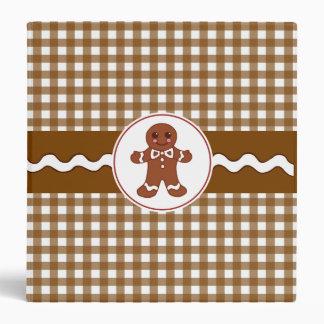 Gingerbread Binder