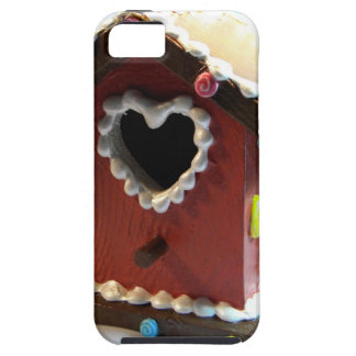 Gingerbread Birdhouse iPhone 5 Covers