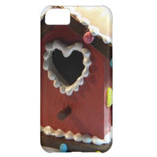 Gingerbread Birdhouse iPhone 5C Cases