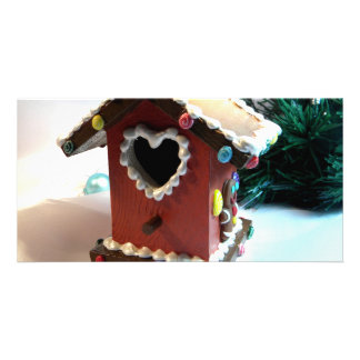 Gingerbread Birdhouse I Card