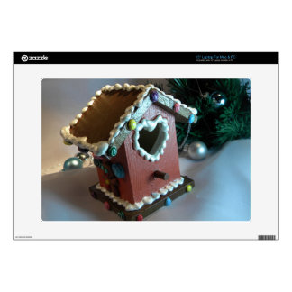 Gingerbread Birdhouse I Decals For Laptops