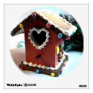 Gingerbread Birdhouse I Wall Decal