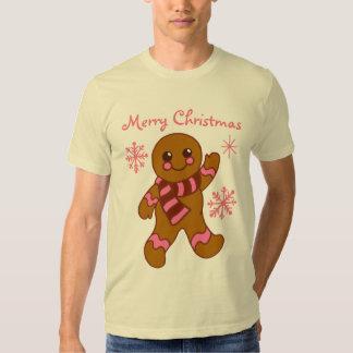 Gingerbread Boy Christmas T-Shirt